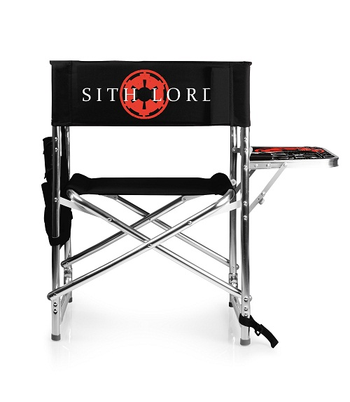 Darth Vader – Sports Chair by Picnic Time (Black)