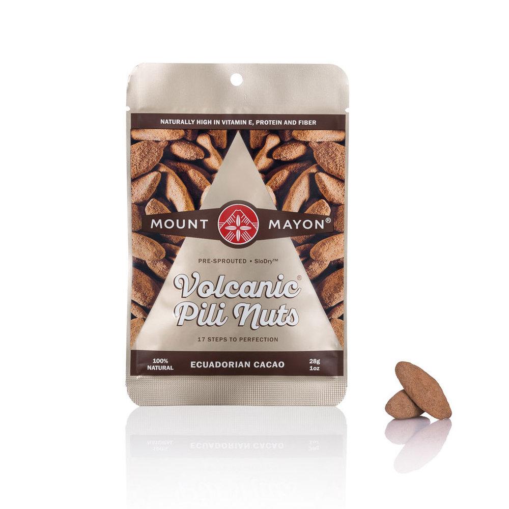 Ecuadorian Cacao Premium Pili Nuts 28g Flat Pouch