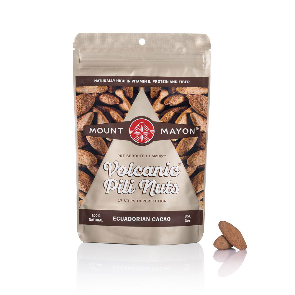 Ecuadorian Cacao Premium Pili Nuts 85g Stand Up Pouch