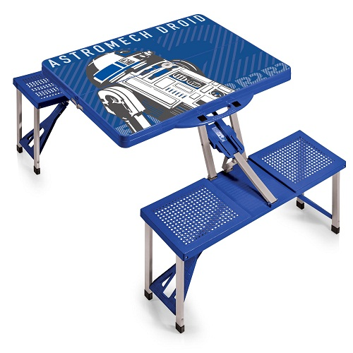R2-D2 – 'Picnic Table Sport' Portable Folding Table with Seats