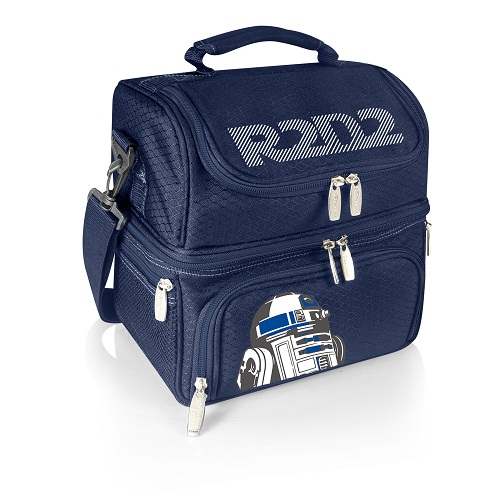 R2-D2 – 'Pranzo' Lunch Tote by Picnic Time (Navy)