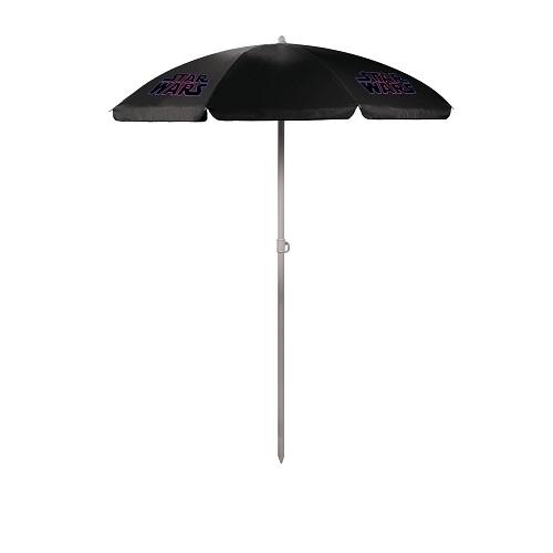 Star Wars Logo – '5.5' Portable Beach Umbrella (Black)
