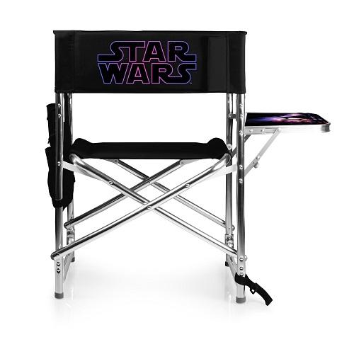 Star Wars Logo – Sports Chair (Black)