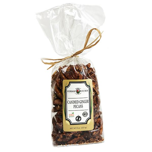 Candied Ginger Pecans 8 oz