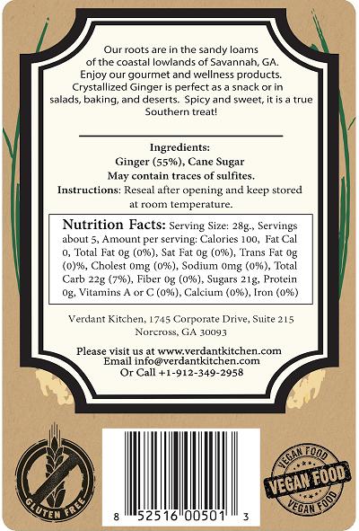 Crystallized Ginger 5 oz