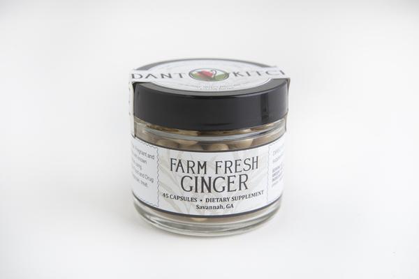 Farm Fresh Ginger Capsules 45