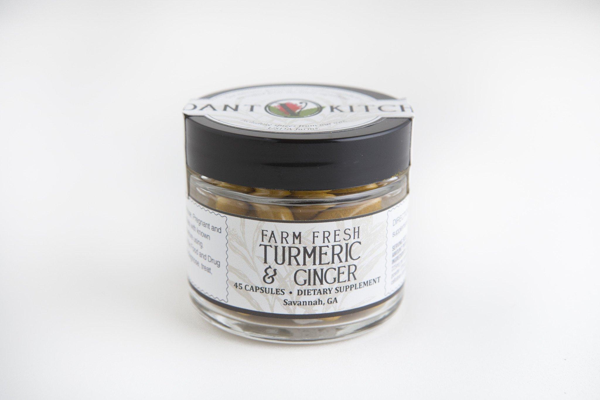 Farm Fresh Turmeric & Ginger Capsules 45