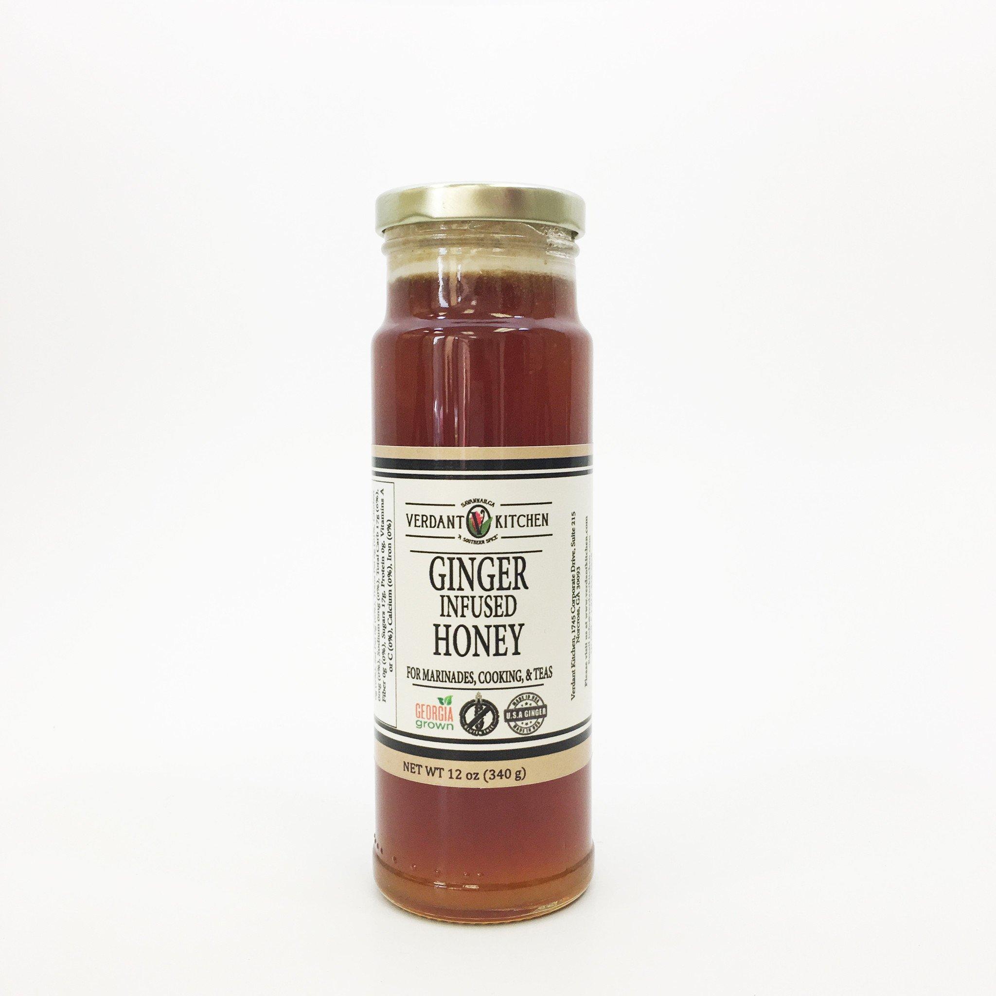 Ginger Infused Honey 12 oz
