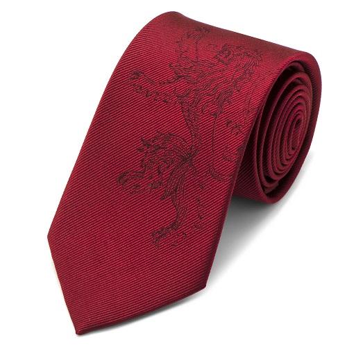 Lannister Lion Red Men's Tie