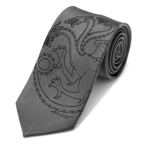 Targaryen Dragon Gray Men's Tie
