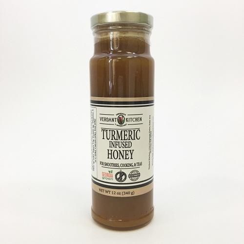 Turmeric Infused Honey 12 oz