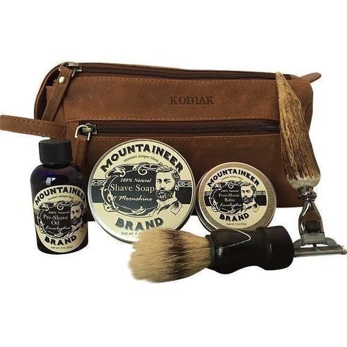Vintage Era Handcrafted Shave Kit