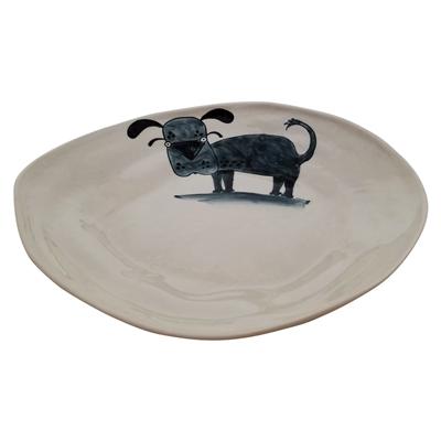Dog Ceramic Large Platter
