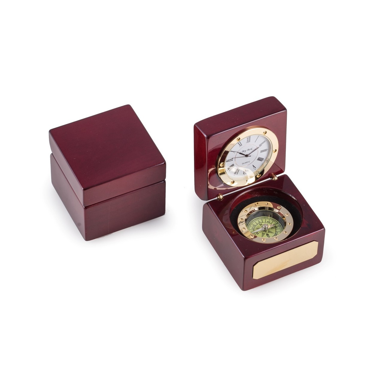 Navigator Clock with Compass